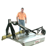 King Kutter Stainless Steel Flex Hitch Rotary Cutter